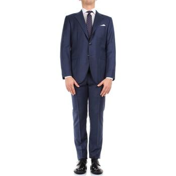 Υφασμάτινα Άνδρας Κοστούμια Kiton 0302S15/25 Blue