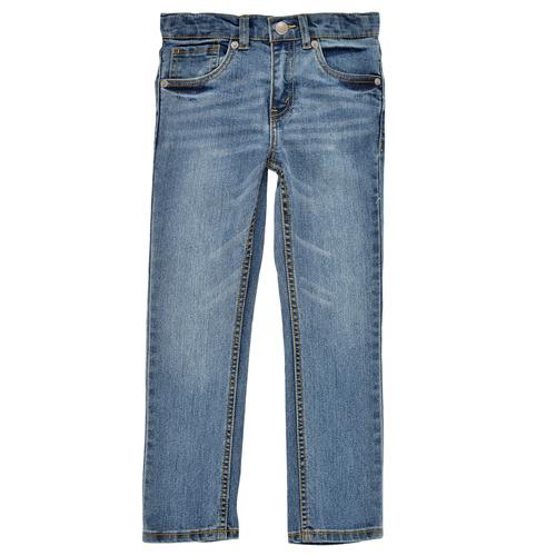 Υφασμάτινα Αγόρι Skinny jeans Levi's 510 SKINNY FIT Μπλέ / Medium