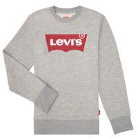 Υφασμάτινα Αγόρι Φούτερ Levi's BATWING CREWNECK Grey
