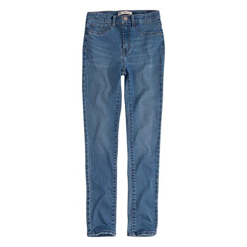 Υφασμάτινα Κορίτσι Skinny jeans Levi's 721 HIGH RISE SUPER SKINNY Μπλέ