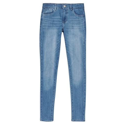 Υφασμάτινα Κορίτσι Skinny jeans Levi's 710 SUPER SKINNY Keira