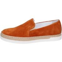Παπούτσια Γυναίκα Slip on Bouvy slip on camoscio Marrone