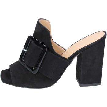 Παπούτσια Γυναίκα Τσόκαρα Broccoli BP304 Μαύρος