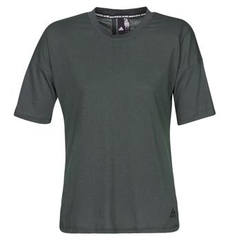 Υφασμάτινα Γυναίκα T-shirt με κοντά μανίκια adidas Performance W MH 3S Tee Black