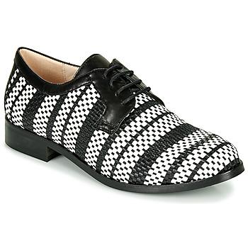 Παπούτσια Γυναίκα Derby Fericelli MILEYNE Black / Και / Άσπρο