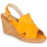 Παπούτσια Γυναίκα Σανδάλια / Πέδιλα Fericelli MARIE Yellow