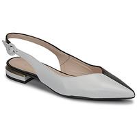 Παπούτσια Γυναίκα Μπαλαρίνες Fericelli MANU Black / Και / Άσπρο
