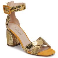 Παπούτσια Γυναίκα Σανδάλια / Πέδιλα Fericelli JEZI Yellow