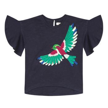 Υφασμάτινα Κορίτσι T-shirt με κοντά μανίκια Catimini MATIGNON Μπλέ