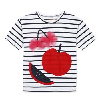 Υφασμάτινα Κορίτσι T-shirt με κοντά μανίκια Catimini KUSY Άσπρο