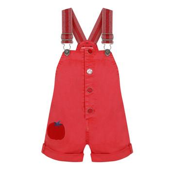 Υφασμάτινα Κορίτσι Ολόσωμες φόρμες / σαλοπέτες Catimini SIBYLLE Red
