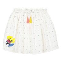 Υφασμάτινα Κορίτσι Φούστες Catimini ALINA Άσπρο