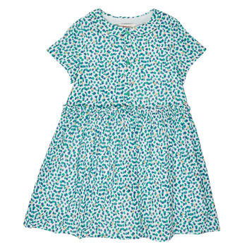 Υφασμάτινα Κορίτσι Κοντά Φορέματα Catimini ELLA Green / Μπλέ
