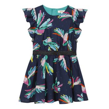 Υφασμάτινα Κορίτσι Κοντά Φορέματα Catimini CESAR Μπλέ
