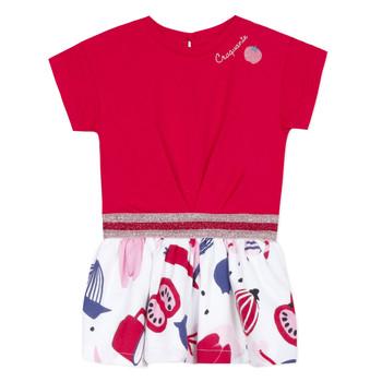 Υφασμάτινα Κορίτσι Κοντά Φορέματα Catimini DAMIANO Red