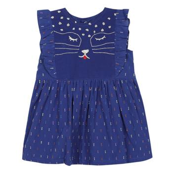 Υφασμάτινα Κορίτσι Κοντά Φορέματα Catimini CHARLES Μπλέ