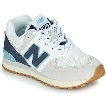 Παπούτσια Χαμηλά Sneakers New Balance GC574SOU Άσπρο / Μπλέ