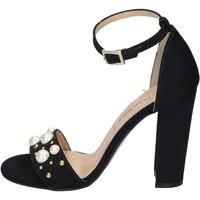 Παπούτσια Γυναίκα Σανδάλια / Πέδιλα Olga Rubini BP356 Μαύρος