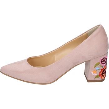 Παπούτσια Γυναίκα Γόβες Olga Rubini decollete camoscio sintetico rosa