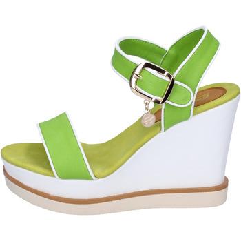 Παπούτσια Γυναίκα Σανδάλια / Πέδιλα Enrico Coveri sandali pelle sintetica Verde