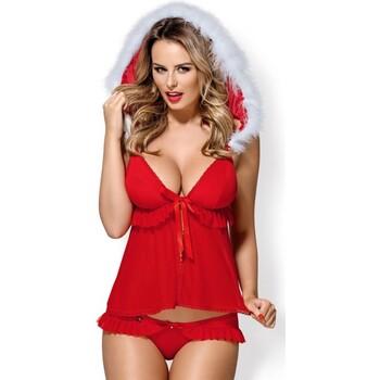 Υφασμάτινα Γυναίκα Πιτζάμα/Νυχτικό Obsessive 851-CST-3 Red