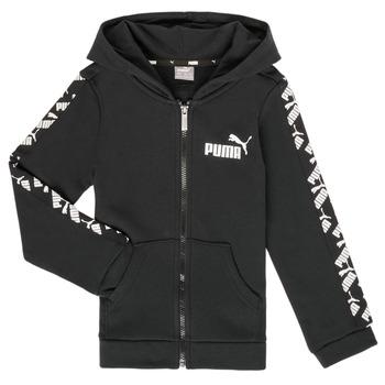 Υφασμάτινα Αγόρι Φούτερ Puma AMPLI HOOD JKT Black