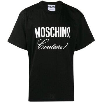 Υφασμάτινα Άνδρας T-shirt με κοντά μανίκια Love Moschino ZA0710 Black