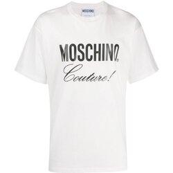 Υφασμάτινα Άνδρας T-shirt με κοντά μανίκια Love Moschino ZA0710 Άσπρο