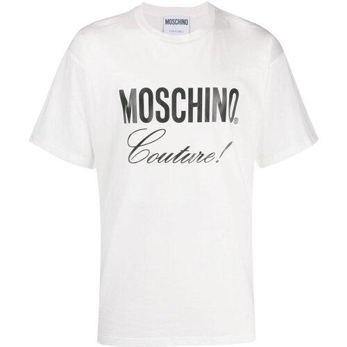 Υφασμάτινα Άνδρας T-shirt με κοντά μανίκια Moschino ZA0710 Άσπρο