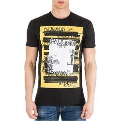 Υφασμάτινα Άνδρας T-shirt με κοντά μανίκια Dsquared S71GD0741 Black