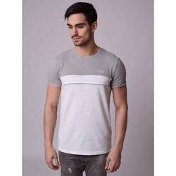 Υφασμάτινα Άνδρας T-shirt με κοντά μανίκια Project X Paris  Grey