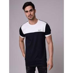Υφασμάτινα Άνδρας T-shirt με κοντά μανίκια Project X Paris  Μπλέ