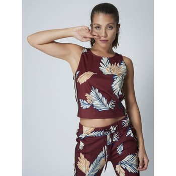Υφασμάτινα Γυναίκα Αμάνικα / T-shirts χωρίς μανίκια Project X Paris  Red