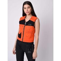 Υφασμάτινα Γυναίκα Μπουφάν / Ζακέτες Project X Paris  Orange