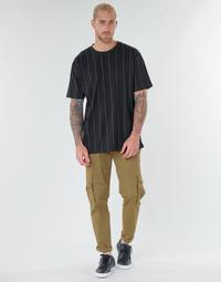 Υφασμάτινα Άνδρας παντελόνι παραλλαγής Urban Classics SUMERO Kaki