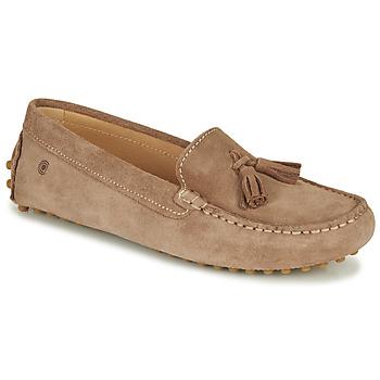 Παπούτσια Γυναίκα Μοκασσίνια Casual Attitude JALAYALE Taupe