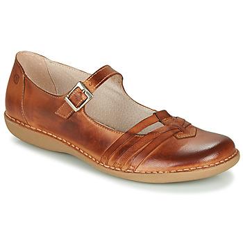 Παπούτσια Γυναίκα Μπαλαρίνες Casual Attitude GERALDINE Brown