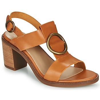 Παπούτσια Γυναίκα Σανδάλια / Πέδιλα Casual Attitude MELINA Camel