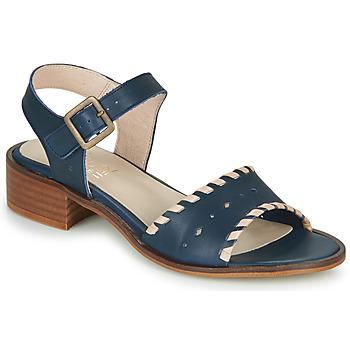 Παπούτσια Γυναίκα Σανδάλια / Πέδιλα Casual Attitude RINEILUE Black / Argenté