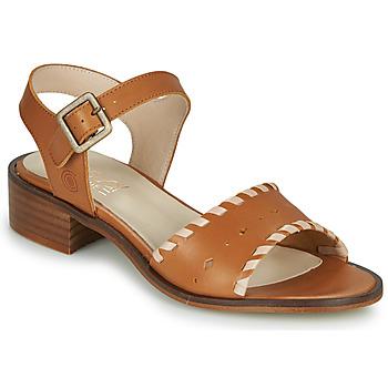 Παπούτσια Γυναίκα Σανδάλια / Πέδιλα Casual Attitude MELIVELLANA Brown