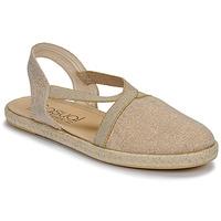 Παπούτσια Γυναίκα Σανδάλια / Πέδιλα Casual Attitude MISSA Beige / Dore