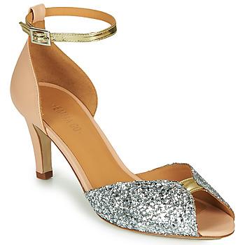 Παπούτσια Γυναίκα Σανδάλια / Πέδιλα Emma Go JOLENE GLITTER Ροζ / Silver / Gold