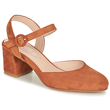 Παπούτσια Γυναίκα Γόβες Betty London MALINE Camel