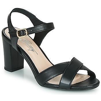 Παπούτσια Γυναίκα Σανδάλια / Πέδιλα Betty London MOUDINE Black
