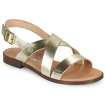 Παπούτσια Γυναίκα Σανδάλια / Πέδιλα Betty London MADISSON Gold