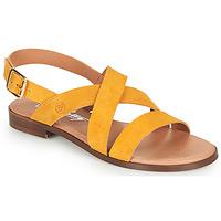 Παπούτσια Γυναίκα Σανδάλια / Πέδιλα Betty London MADISSON Yellow