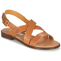 Παπούτσια Γυναίκα Σανδάλια / Πέδιλα Betty London MADI Cognac