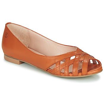 Παπούτσια Γυναίκα Σανδάλια / Πέδιλα Betty London MANDISE Cognac