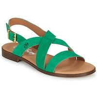 Παπούτσια Γυναίκα Σανδάλια / Πέδιλα Betty London MATOSSI Green