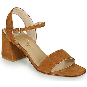 Παπούτσια Γυναίκα Σανδάλια / Πέδιλα Betty London MAKITA Cognac
